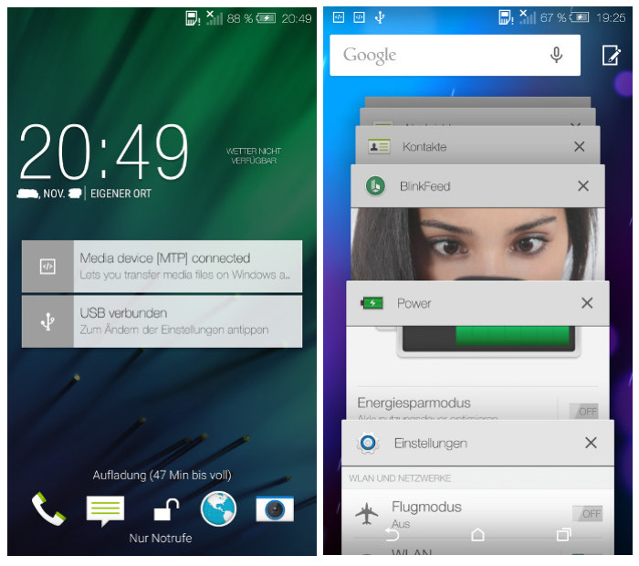 Leak: Screenshots of Android Lollipop with Sense 6.0 on ...