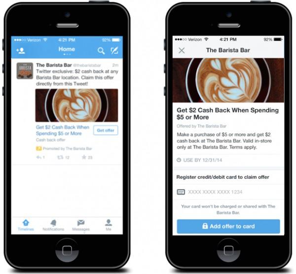 Twitter Offers Screenshot