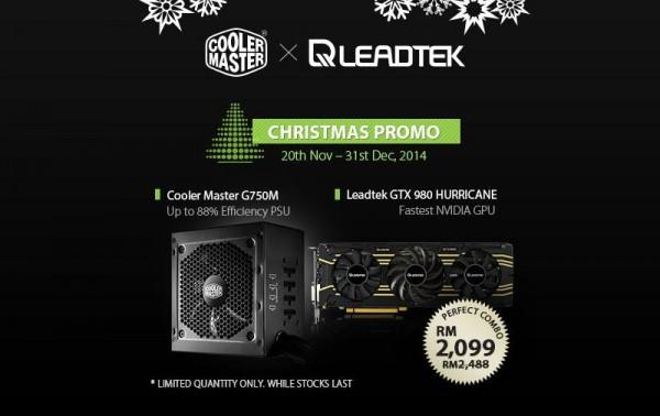 Cooler Master x Leadtek Promo