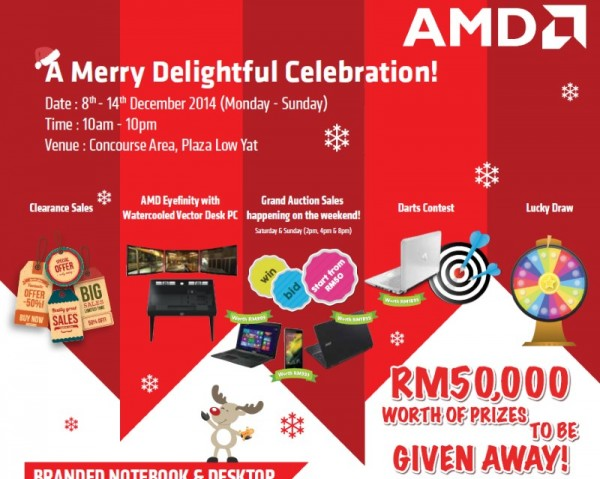 AMD Xmas Roadshow - Plaza Low Yat