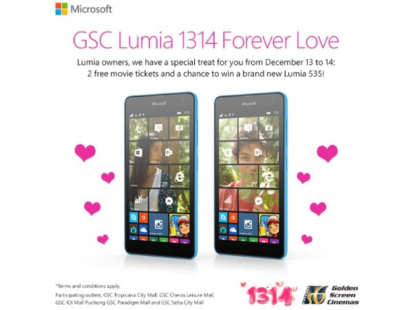 GSC Lumia 1314 Forever Love