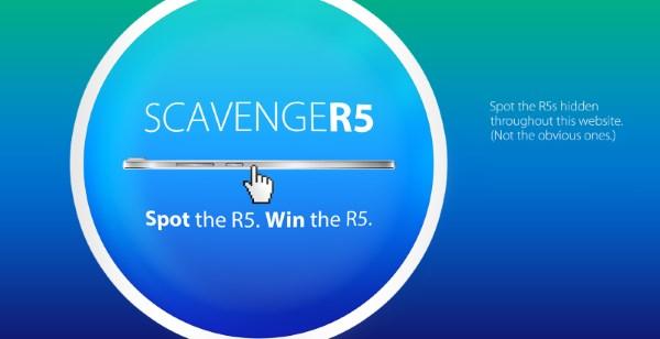 Oppo ScavengeR5 Contest