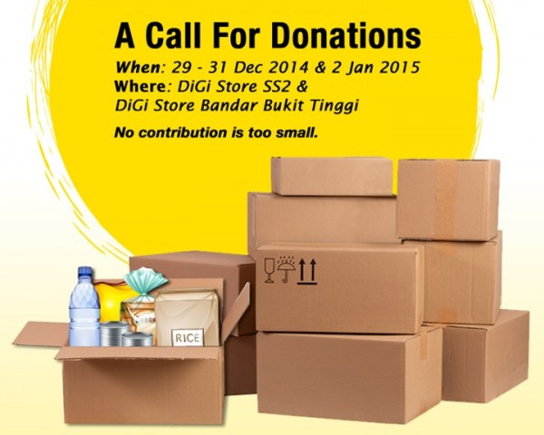 DiGi Donation Drive for Flood Victims
