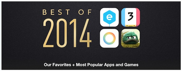App Store Best of 2014 Apps and Games