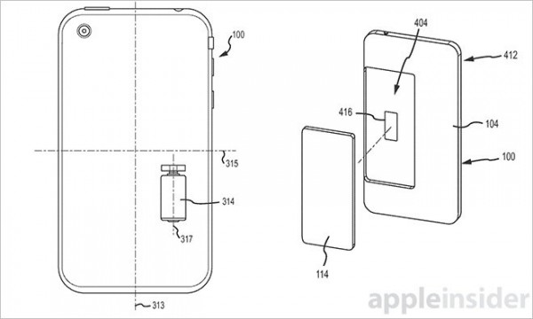 Apple Shift Phone Free Fall Patent 2