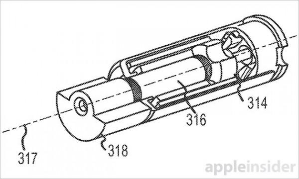 Apple Shift Phone Freefall Patent