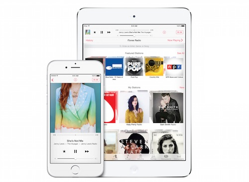 Apple iOS 8 Music