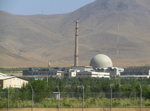 An Iranian uranium enrichment plant
