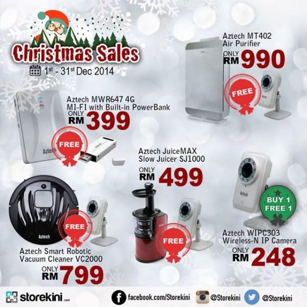 Aztech Christmas Promo