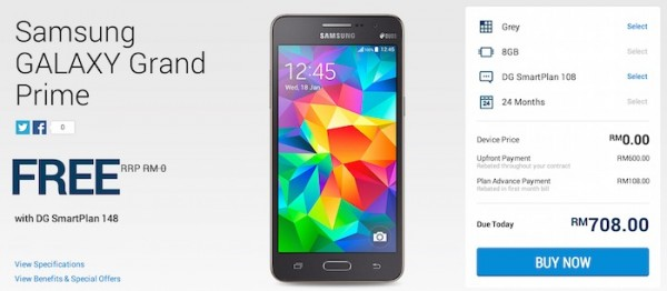 DiGi Samsung Galaxy Grand Prime