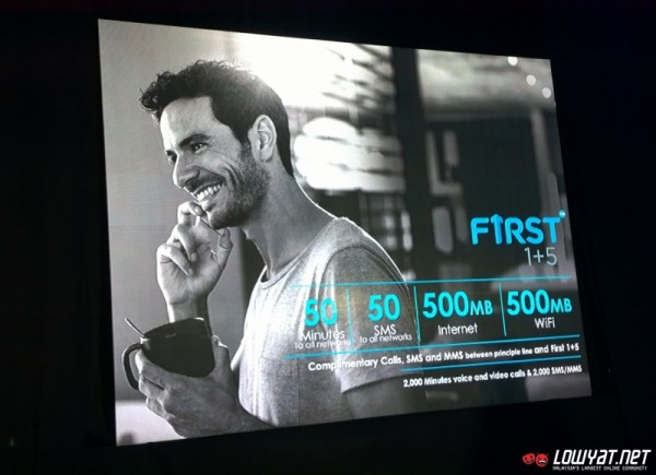 First by Celcom Postpaid Plans Launch 12
