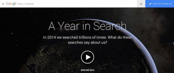 Google 2014 Year in Search