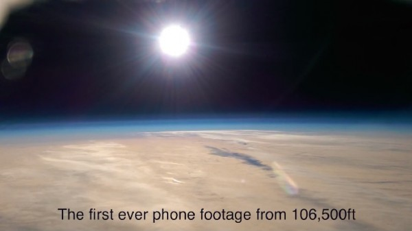 HTC One In Space