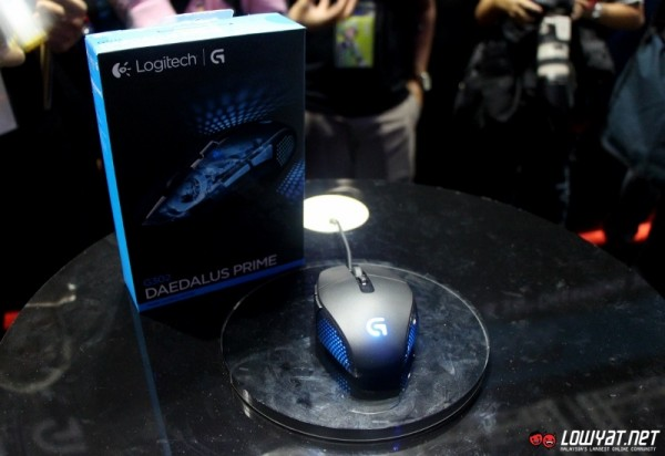 Logitech G302 Daedalus Prime MOBA Gaming Mouse 01
