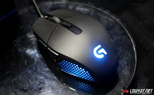 Logitech G302 Daedalus Prime MOBA Gaming Mouse 02