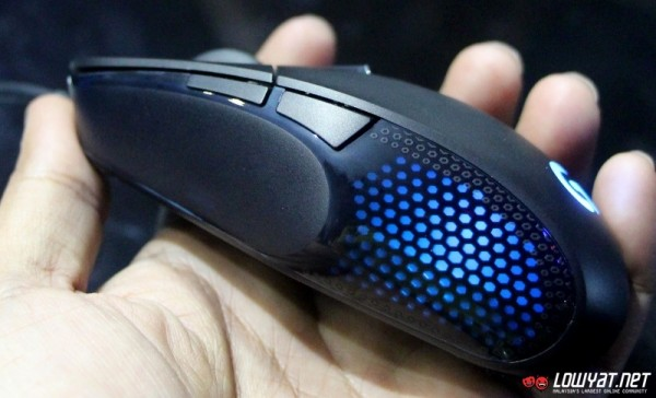 Logitech G302 Daedalus Prime MOBA Gaming Mouse 04