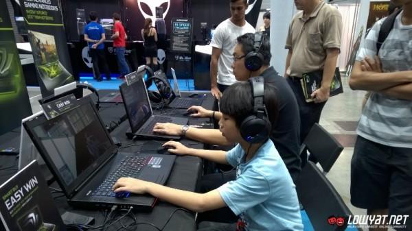 NVIDIA Booth PIKOM PC Fair 2014 01