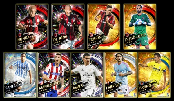 PES Manager cards
