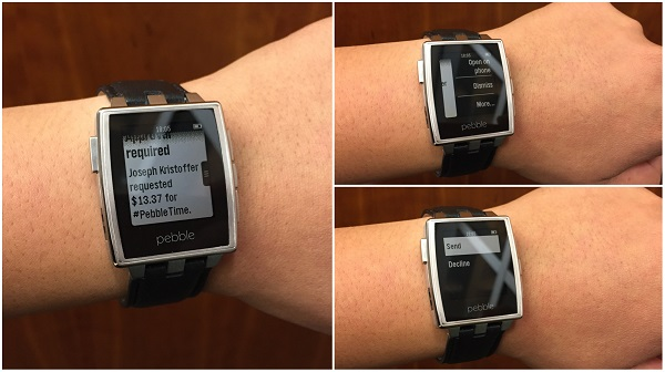 Pebble Android Wear
