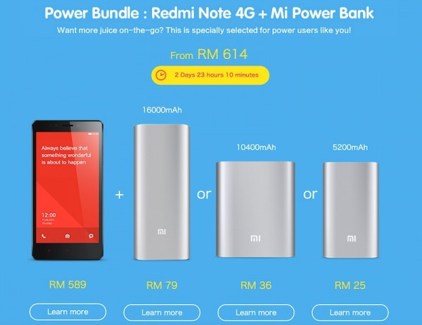 Redmi NOte Power Bundle