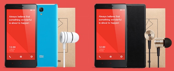 Redmi Note 4G Bundle