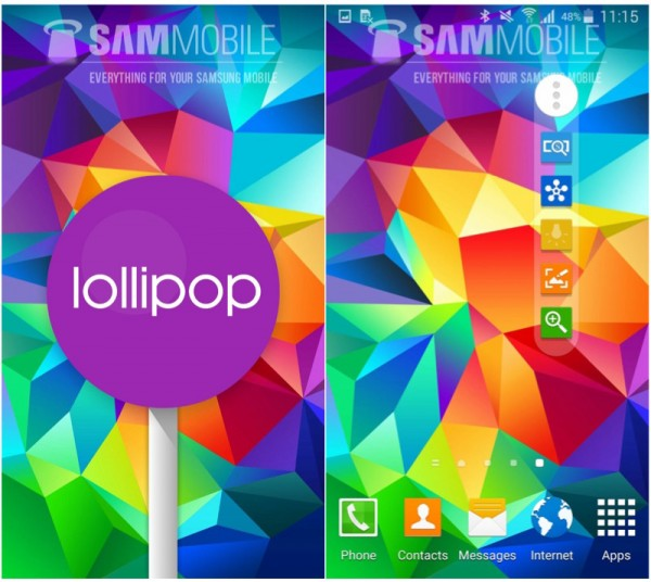 SGS5 Lollipop 2