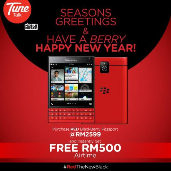 Tune Talk BB Passport Red