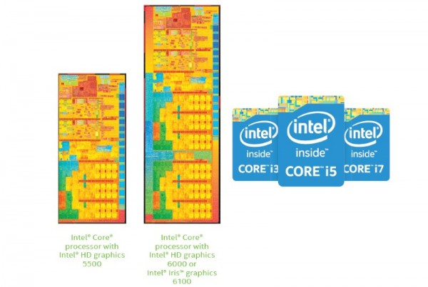 5th Generation Intel Core Processors / Broadwell U