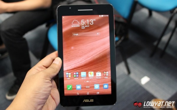 ASUS Fonepad 7 FE171CG Hands On 14