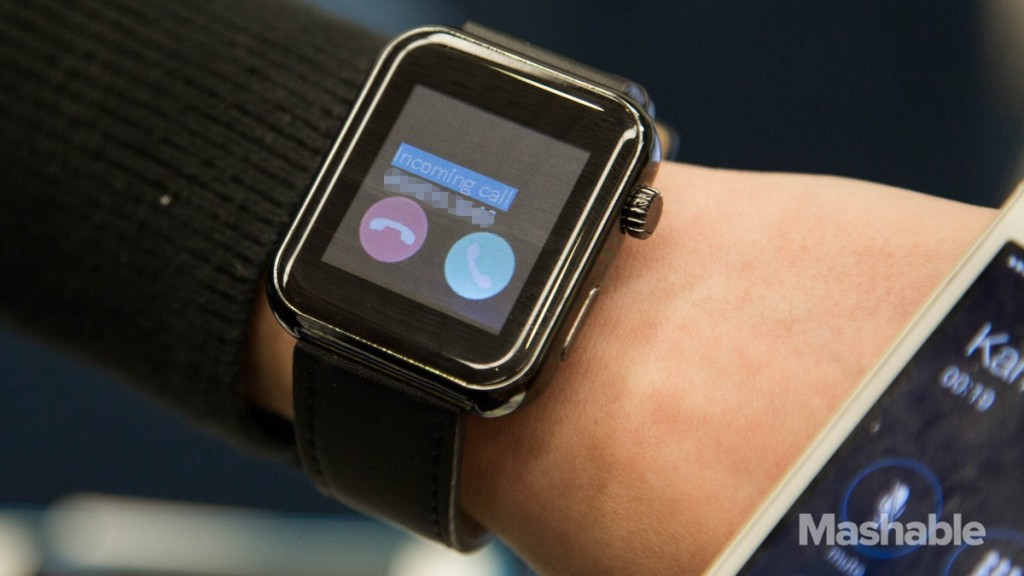 Apple Watch Clone Incoming Call