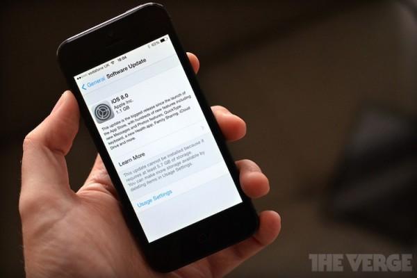 Apple iOS 8 Update