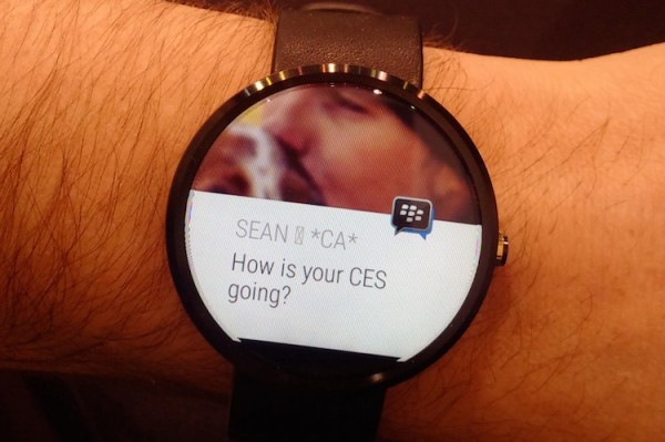 BBM on AndroidWear