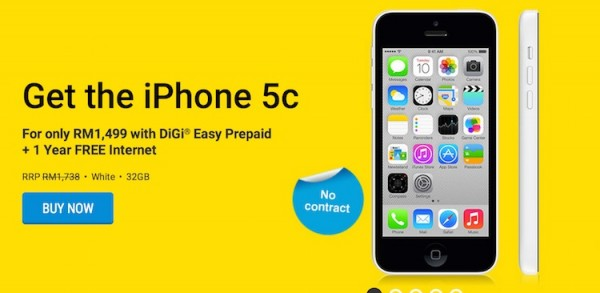 DiGi RM1499 for 32GB iPhone 5c white