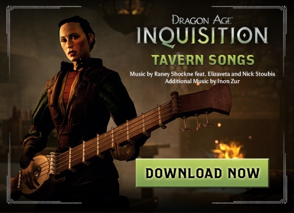 Dragon Age Tavern Songs