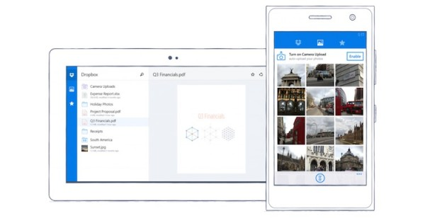 Dropbox on Windows Phone Official
