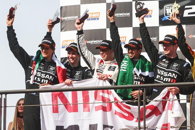 Gran Turismo Players Finish Second In Class At Dubai Endurance Race