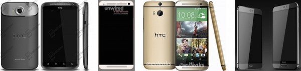 Htc one m9 and one m9 plus evleaks