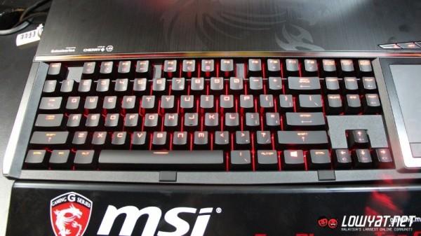 MSI GT80 Titan SLI Gaming Laptop Hands On 05