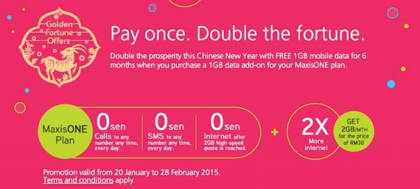 Maxis CNY Double Add On Data Promo