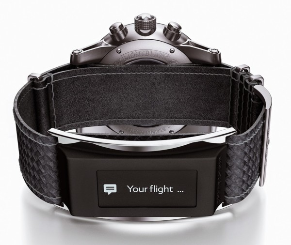 Montblanc e-strap Smartwatch accessory