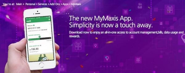 New MyMaxis App