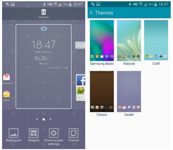 Samsung Galaxy A5 Themes