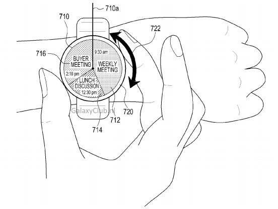 Samsung Round Smartwatch Patent