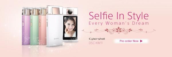 Sony KW11 Perfume Bottle Selfie Camera
