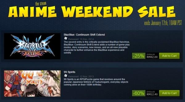 Steam Anime Sale
