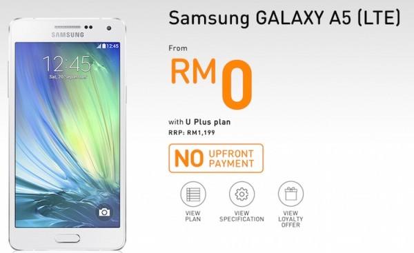 U Mobile Samsung Galaxy A5