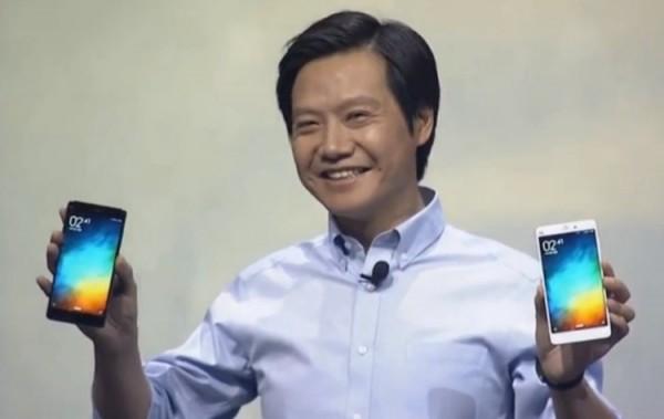 Xiaomi Note Black and White