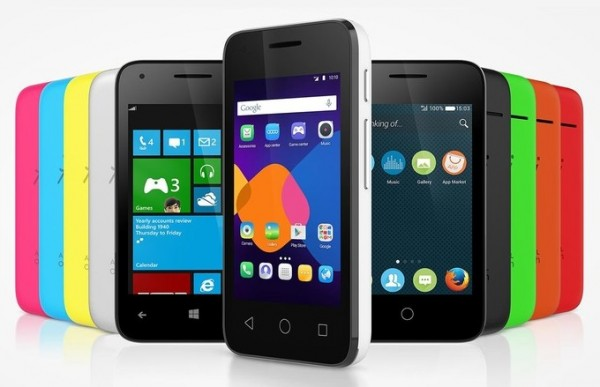 Alcatel OneTouch PIXI 3: With Android, Firefox OS, and Windows Phone