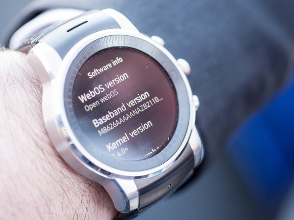 CES 2015: LG Has A WebOS Smartwatch, Rumoured To Be Launching In 2016