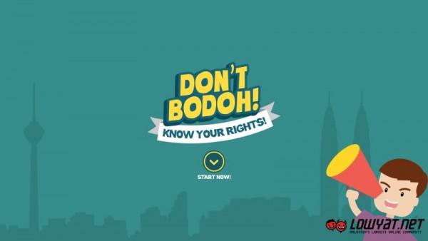 Don't Bodoh